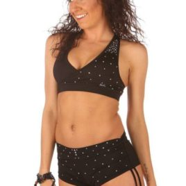 Top Fitness Top Sparkles Mika Pole Wear Spain Mika Yoga Wear Spain Fitness Dancewear Acrobatics