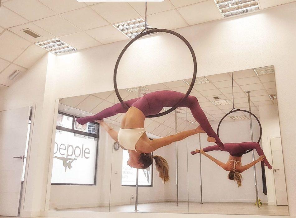 Escuela de Pole Dance & Pole Fitness Be Pole Toledo Mika Pole Wear Spain
