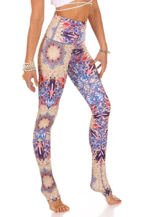 Kaya Legging High Waisted_Prints Sunburst Mika Poledance Yoga Wear Spain Fitness Dance (1)