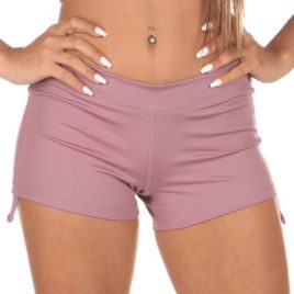 Lucia Short Pole Mauve Mika Yoga Wear Mika Pole Wear Spain Dance Fitness Swimwear (2)