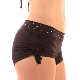 LuciaBlack Pole Short Sparkle Astoria Mika_Pole_Wear_Spain_Mika_Yoga_Wear_Spain_Dance_Fitness