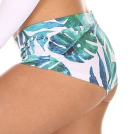 Meeko Short Prints Banana Leaf Mika Yoga Wear Spain