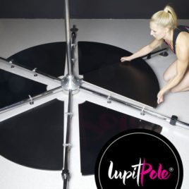 Stage_Pole_Lupitpole_Mika_Pole_Wear Spain Fitness. Stage Pole. Barra de Podium. Barra portatil.