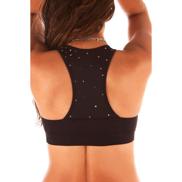 ella top sparkle back